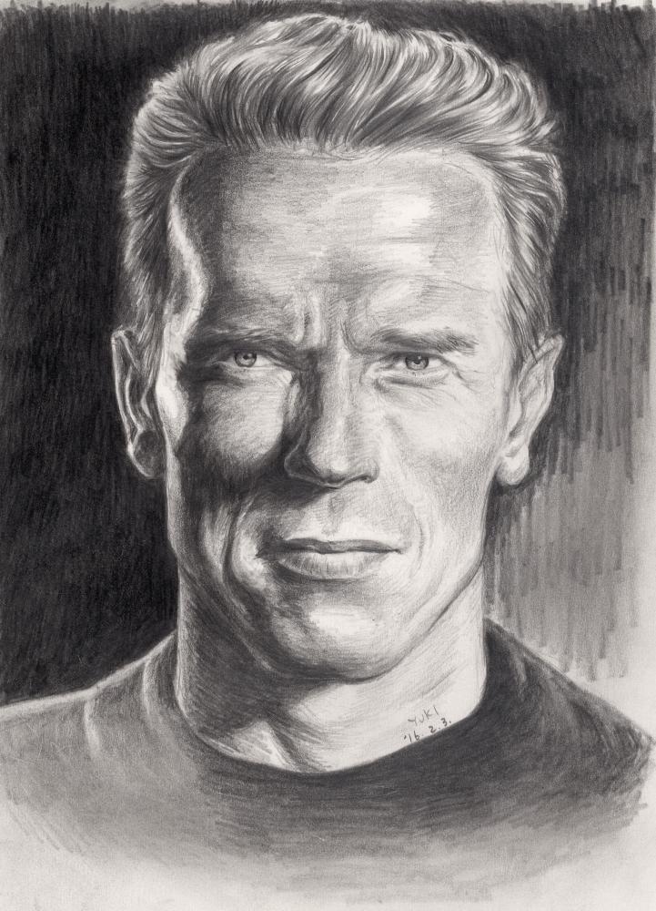 Arnold Schwarzenegger by Yuki